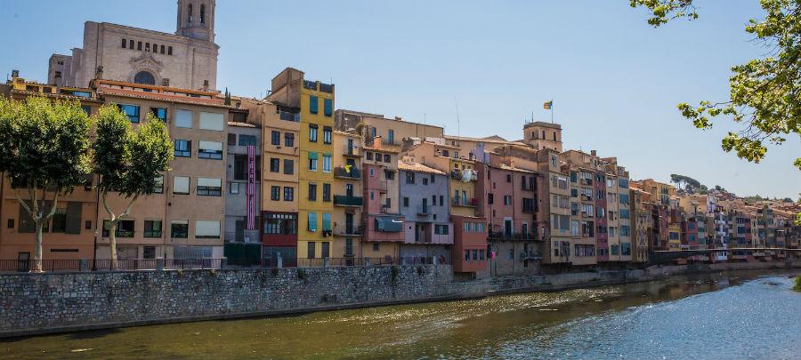 Anne-Vibeke rejser - Girona