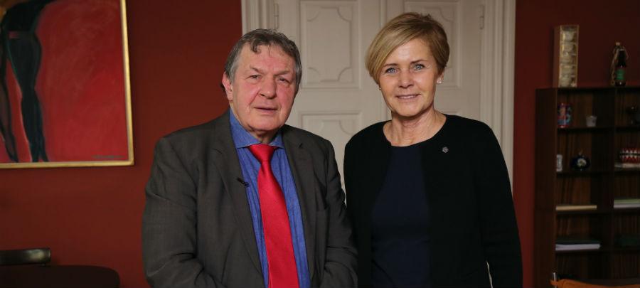 Dansk-tysk med Matlok - Kulturminister Mette Bock