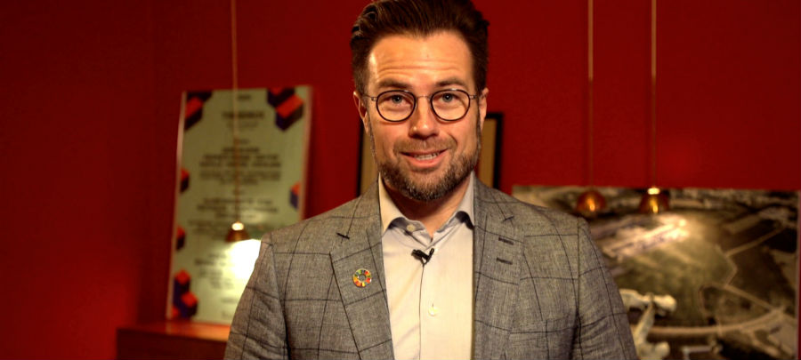 Borgmestrenes nytårstale - Peter Rahbæk Juel, Odense