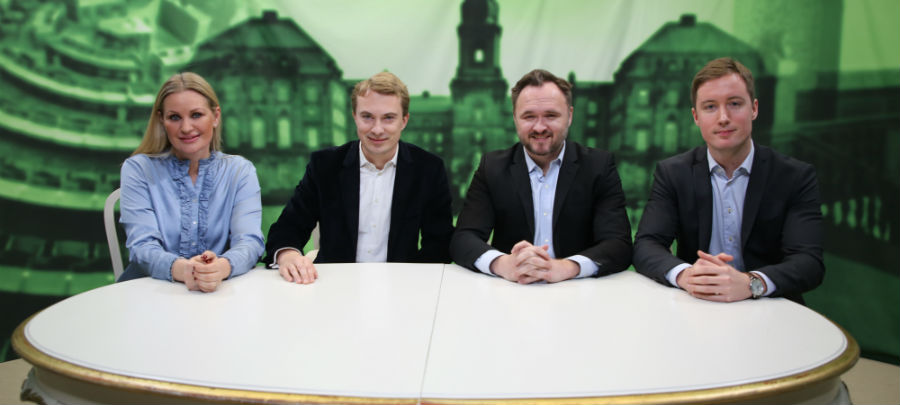 Før valget - med Jørgensen og Messerschmidt (1) - Venstre og SF